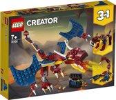 LEGO Creator Vuurdraak - 31102