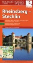 Rad-, Wander und Paddelkarte Rheinsberg - Stechlin 1 : 50 000