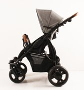Kees K2 Plus - Kinderwagen - Grey Leather - Grey Linen