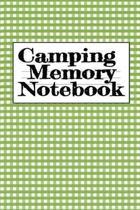 Camping Memory Notebook