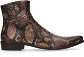 Sacha - Heren - Boots met snakeskin print - Maat 43