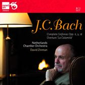 "J.C. Bach: Sinfonias, Op. 6, 9, 18; Overture ""La calamita"""