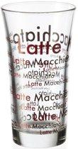 Montana Enjoy Latte Macchiato glas - 6 stuks