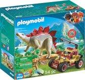 PLAYMOBIL Avonturiersbuggy met Stegosaurus - 9432