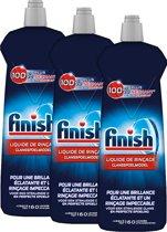 Finish Glansspoelmiddel Shine & Protect 3x 800 ml - Voordeelverpakking