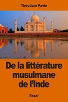 de la Litt rature Musulmane de l'Inde