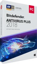 Bitdefender Antivirus Plus 2018 - 3 Apparaten - 2 Jaar - Windows