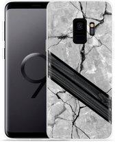 Galaxy S9 Hoesje Marble Wood