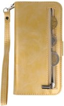 Goud Luxe Portemonnee Hoesje voor Apple iPhone 7 Plus / 8 Plus