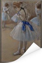 Dancer - Schilderij van Edgar Degas Poster 120x180 cm - Foto print op Poster (wanddecoratie woonkamer / slaapkamer) XXL / Groot formaat!