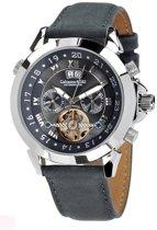 Calvaneo 1583 Calvaneo Astonia Platinum Greyhound Wildleather - Horloge - 46 mm - Automatisch uurwerk