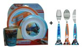 Disney Planes kinder servies + kinder bestek set