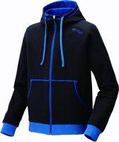 Yonex Trainingspak Hoody 32010ex Unisex Zwart/blauw Maat L