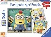 Ravensburger Despicable me 3 puzzels van 49 stukjes