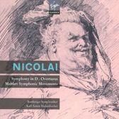 Nicolai: Symphony in D major; Overtures; Mahler: Symphonic Movements