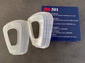 3M Stoffilterhouder 501 Tbv 6000 Serie