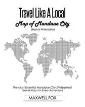 Travel Like a Local - Map of Mandaue City (Black and White Edition)