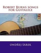 Robert Burns Songs for Guitalele