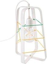 Het Lichtlab No.31 tafellamp lichtkooi medium wit