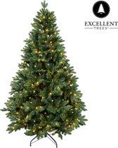 Kerstboom Excellent Trees® LED Mantorp 210 cm met verlichting - Luxe uitvoering - 380 Lampjes