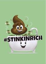 Emoji Schrift A4 Gelijnd Groen Per Stuk