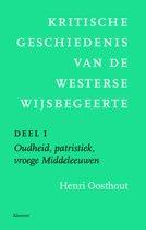 Kritische geschiedenis van de westerse wijsbegeerte deel I: Oudheid, Middeleeuwen, vroegmoderne tijd