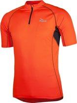 Rogelli Perugia Jersey SS - Fietsshirt - Korte Mouw - Oranje - Maat XXL