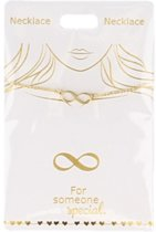 Ketting Infinity, gold plated
