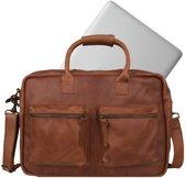 Cowboysbag The College Bag 15.6 inch - Cognac
