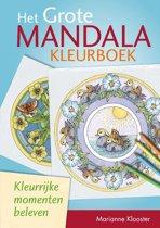 Het grote mandalakleurboek