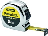 Stanley Rolbandmaat Powerlock Blade Armor 5m - 25mm