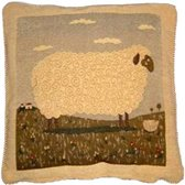 Sheep kussenhoes - Beige - 40x40 cm