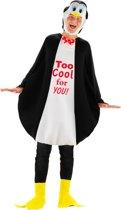Driedelig Pinguin pak kostuum Zwart - one-size