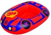 Jilong Opblaasboot Kinder Auto 67.5 X 50 Cm Rood/blauw