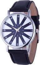 Fako Bijoux® - Horloge - Ster - Zwart