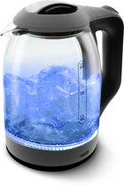 Nikkei NSWK30AT Glazen waterkoker met LED verlichting  - 1.7 Liter -Kookt water snel en veilig