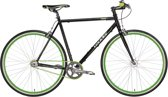 Leader Single Speed Hero - Urban Fixie - Mannen - Zwart - 52 cm