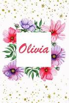 Olivia: Amazing Personalized Name Notebook Journal Diary to write in - human names