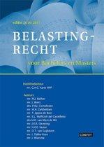 Omslag van 'Belastingrecht voor Bachelors en Masters 16/17 Theorieboek'