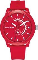 Tommy Hilfiger TH1791480 horloge heren - rood