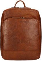 29822779604 Chesterfield - 15,4 inch Laptop Rugzak - Mack - cognac