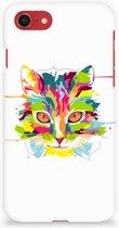 iPhone 8 | 7 bumper Hardcase Hoesje Cat Color