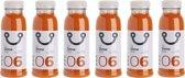 DrDetoxBox Mixed Juice Sinaasappel Wortel Gember Sapkuur (6 Verse Detox Sapjes)