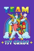 Team 1st Grade: 150 Page Wide-Ruled Notebook