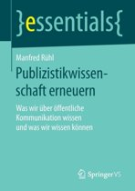 Publizistikwissenschaft Erneuern