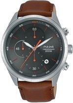 Pulsar PM3103X1 horloge heren - bruin - edelstaal