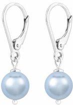 ARLIZI 1532 Pareloorbellen - Dames - 925 Sterling Zilver - 2,5 cm - Blauw