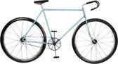Wanddecoratie fiets 99*52*6 cm Blauw | 5Y0512 | Clayre & Eef