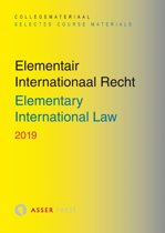 Boek cover Elementair Internationaal Recht 2019 van  (Paperback)