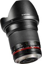 Samyang 16mm F2.0 ED AS UMC CS - Prime lens - geschikt voor Canon